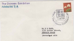 Australia PM 533  1977 The Chinese Exhibition  ,FDI, Souvenir Cover - Poststempel