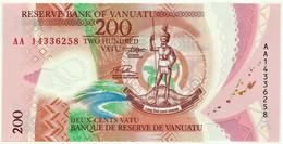 Vanuatu - 200 Vatu - 2014 - Unc. - Pick 12 - Serie AA - Polymer - Vanuatu