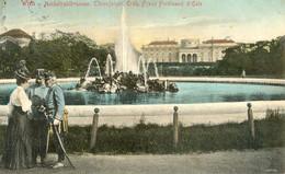 Autriche - Wien - Hochstrahlbrunnen Thronfolger Erzh Franz Ferdinand D'esye - Otros