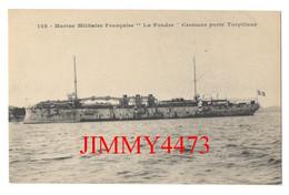 """CPA - """" La Foudre """" Croiseur Porte Torpilleur - N° 128 - Pas De Nom D'éditeur - Guerra"""