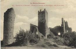 La Haute Garonne Vallée De La Garonne Ruines Du Chateau De Montespan Près St Gaudens Labouche RV - Autres Communes