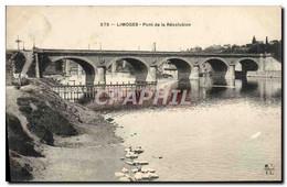 CPA Limoges Pont De La Revolution - Limoges