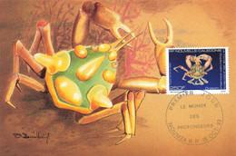 CARTE MAXIMUM #23480 NOUVELLE CALEDONIE NOUMEA 1993 ORSTOM CRUSTACE - Tarjetas – Máxima