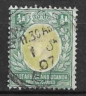 Afrique  Orientale Britannique Ouganda  N°  92 Oblitéré   B/TB  Soldé   Le Moins Cher Du Site  ! ! ! - British East Africa
