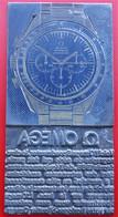 Rare Matrice De Tampon Horlogerie Montre OMEGA Speedmaster - Tools