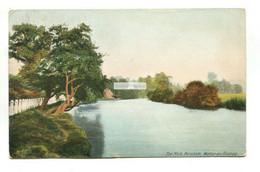Walton-on-Thames - The Mole, Hersham - 1908 Used Postcard - Surrey