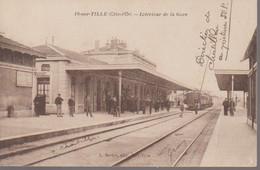 IS SUR TILLE -  INTERIEUR DE  LA GARE - Is Sur Tille