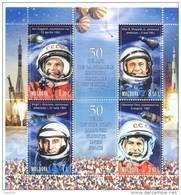 2011. Moldova, Space, 50y Of Flight  Of I. Gagarin, S/s, Mint/** - Moldavie