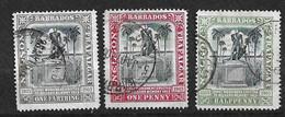 Barbades       UK  N°76 ; 77 Et 85      Oblitérés     B/TB  Voir Scans  Soldé Le Moins Cher Du Site  ! ! ! - Barbados (...-1966)