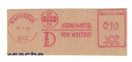 8122 Radebeul 1966 - Arzneimittel Von Weltruf - Germed - Geneeskunde