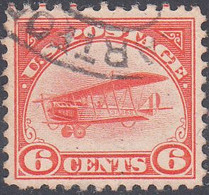 UNITED STATES     SCOTT NO  C1   USED    YEAR  1918  BEAUTIFUL COPY !! - 1a. 1918-1940 Used