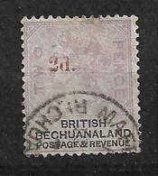 Bechuanaland        UK  N°  25a  Oblitéré    B/TB  Voir Scans  Soldé Le Moins Cher Du Site  ! ! ! - 1885-1895 Crown Colony