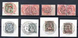 TYPE BLANC - Oblitérations Spéciales - 1900-29 Blanc