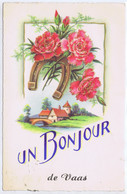 72 - Vaas (Sarthe) - Un Bonjour De Vaas - Andere Gemeenten