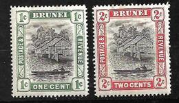 Brunei  UK    N° 13 Et 14 Neufs *      B/TB  Voir Scans  Soldé Le Moins Cher Du Site  ! ! ! - Brunei (...-1984)