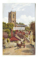 A R Quinton Postcard No. 3032 - Minehead, Church Steps - C1940's - Quinton, AR