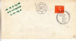 Pays Bas - Lettre De 1961 - Oblit Groningen - Cachet Spécial Auto Postkantoor - Brieven En Documenten