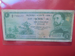 ETHIOPIE 1$ 1961 Circuler (B.22) - Ethiopia