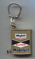 Porte-clefs  Auto Bidon Mobiloil Mètre Ruban - Key-rings
