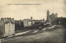 RODEZ  Vue Vers Le Sud Rue De L'Amphitheatre Et Rue Planard RV Cachet Hopital Complementaire N°23 Rodez - Rodez