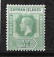 Iles Caïmanes UK  N°   34    Neuf  (  * )  B/TB  Voir Scans  Soldé Le Moins Cher Du Site  ! ! ! - Cayman Islands