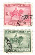 YV+ Venezuela 1951 Mi 632 635 Simon Bolivar - Venezuela