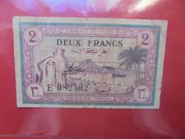 TUNISIE 2 FRANCS 1943 Circuler (B.22) - Tunisia