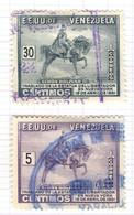 YV+ Venezuela 1951 Mi 634 638 Simon Bolivar - Venezuela