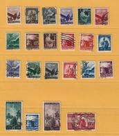 Timbre Italie N° 481 - 482 - 484 A 503 - Gebraucht