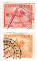 YV+ Venezuela 1951 Mi 642 645 Simon Bolivar - Venezuela