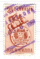 YV+ Venezuela 1951 Mi 650 Staatswappen - Venezuela