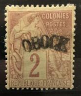 OBOCK 1892 - NEUF*/MH - YT 2 - RARE - CV 50 EUR - Neufs