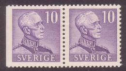 SWEDEN 1939 Gustav V (Large Numerals) Facit 273BC2 Pair /Scott 300c+300/Michel 256 II Dl/B MNH VF - Nuevos