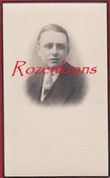 Antoon Grauwels Pelagia Culot Zemst Sempst 1939 Met Foto Avec Photo Bidprentje Doodsprentje Image Mortuaire - Devotion Images