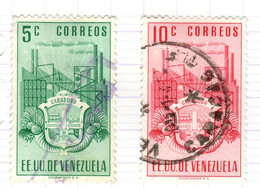 YV+ Venezuela 1951 Mi 678-79 Carabobo - Venezuela