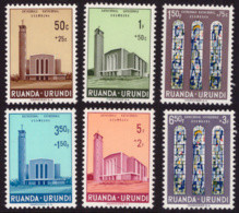 Ruanda 0225/30** Usumbura MNH - 1948-61: Nuovi