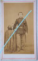 Photo CDV Circa 1900 Portrait Soldat Armée Belge Belgische Leger - Ancianas (antes De 1900)