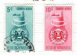 YV+ Venezuela 1951 Mi 721-22 Anzoategui - Venezuela