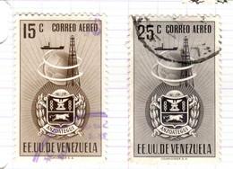 YV+ Venezuela 1951 Mi 723-24 Anzoategui - Venezuela