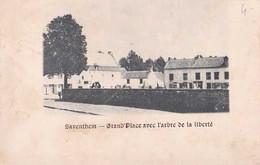 Zaventem - Saventhem - Grand'Place Avec L'arbre De La Liberté - Pas Circulé - Dos Non Séparé - TBE - Zaventem