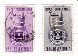 YV+ Venezuela 1951 Mi 728-29 Anzoategui - Venezuela