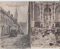 CAMBRAI (59) - Les Ruines De La Grande Guerre - 5 Cartes Postales - Bon état - Cambrai