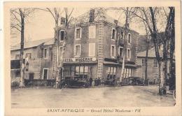 Saint Afrique Grand Hotel Moderne  Vielles Voitures Excellent état Neuve - Saint Affrique