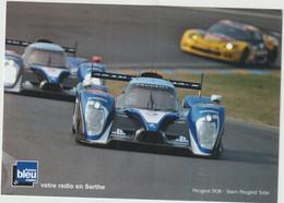 Sport  Voiture LE MANS  24 Heures   :  Peugeot  908 , Team  Peugeot  Total - Le Mans