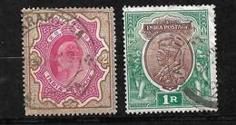 Inde UK Empire N° 68 Et 91  Oblitérés  B/TB  Voir Scans Soldé Le Moins Cher Du Site  ! ! - 1902-11 King Edward VII