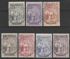 377/383 Croix De Lorraine/kruis Van -Lotharingen Oblit/gestp Centrale - Usados