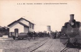 Saint Angeau, La Gare - Altri Comuni
