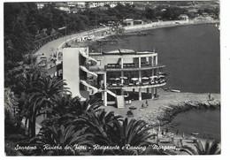 9511 - SANREMO SAN REMO RIVIERA DEI FIORI RISTORANTE E DANCING MORGANA ANIMATA IMPERIA 1950 - San Remo