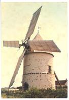 CPSM 77 - GASTINS - Le Moulin Choix - Le Seul Conservé Dans La Brie - Altri Comuni