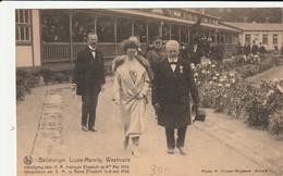 Westmalle : Sanatorium Lizzie-Marsily / Inhuldiging Door Koningin Elisabeth In 1920 - Malle